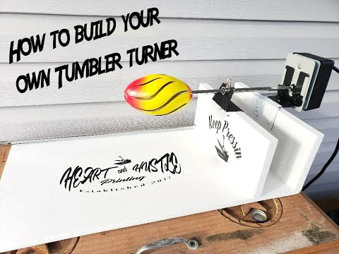 How to build a easy tumbler/ cup turner