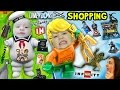 FGTEEV Shopping: Shawn & the Marshmallow Man + Aqua Frog! NEW Disney Infinity & Lego Dimensions!