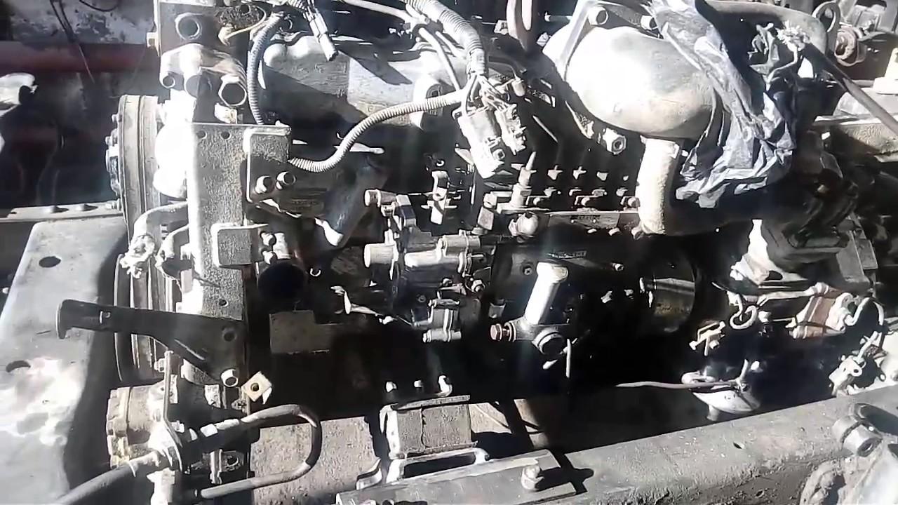 Двигатель isuzu 6HE 1 дизель на зил 131 Часть 1