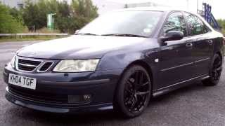 My Saab 93 Aero with 18 Inch INOVIT SPEED Alloy Wheels
