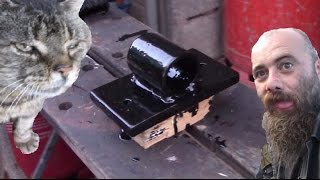 Diy Motorcycle Ground Anchor Easy Welding Project