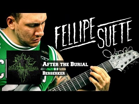 After The Burial  Berzerker Guitar ESP H308 LTD HD