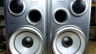 PIONEER S-K5V-LR Speaker System (Bass I Love You)
