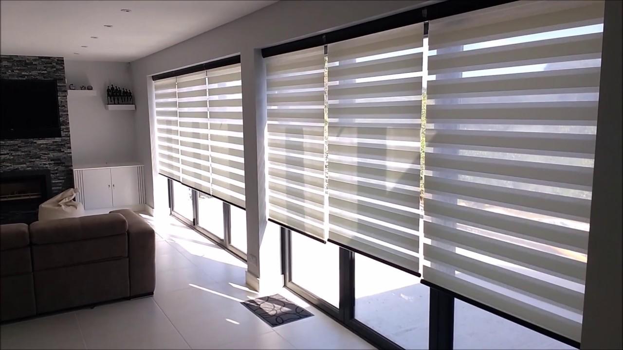 Motorised Vision Blinds On Bi Fold Doors Premier Blinds