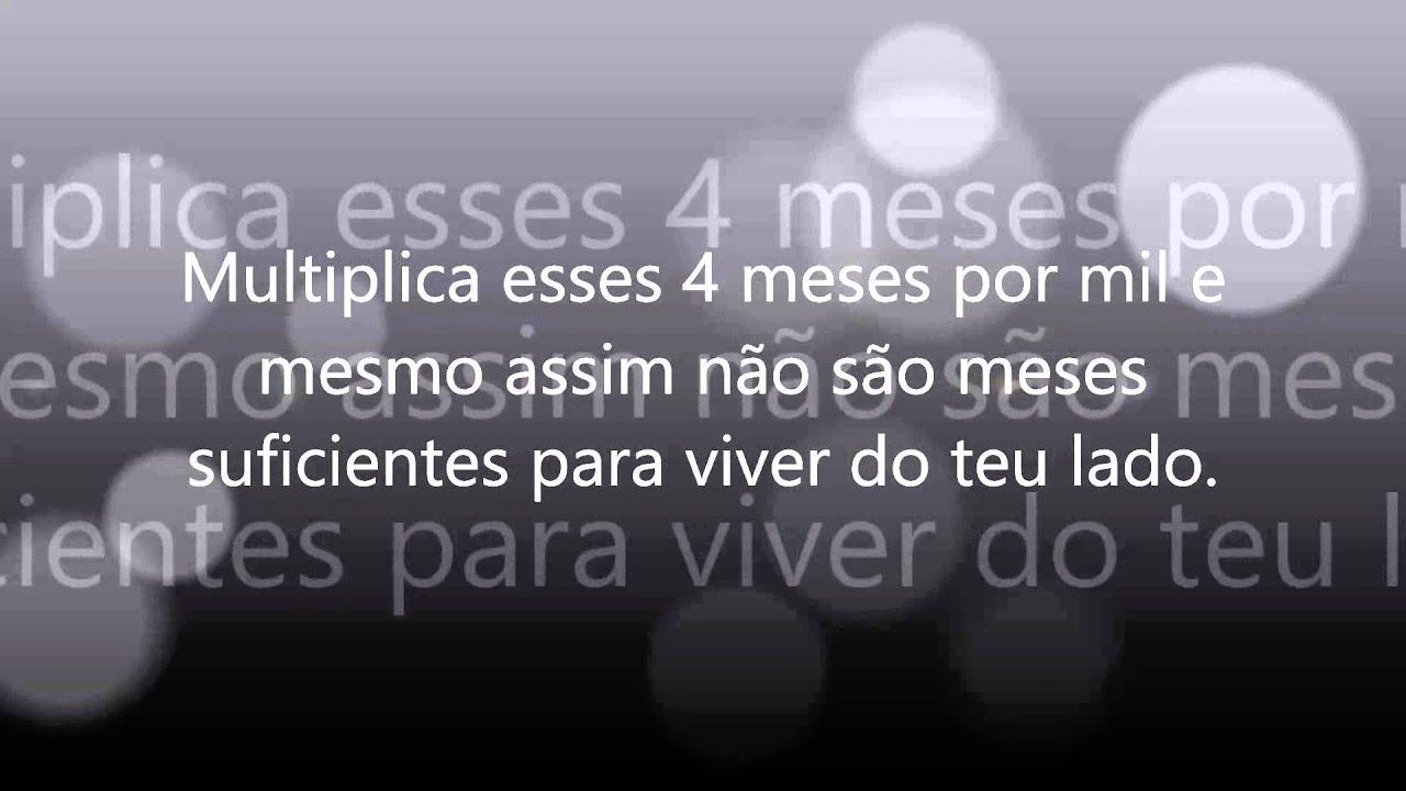 Textos 4 Meses De Namoro: TE AMO MUITO MINHA VIDA, 4 MESES DE NAMORO S2