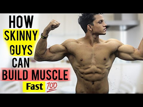 How Skinny People Can BUILD MUSCLE Fast | BEGINNERS GUIDE | Yash Anand