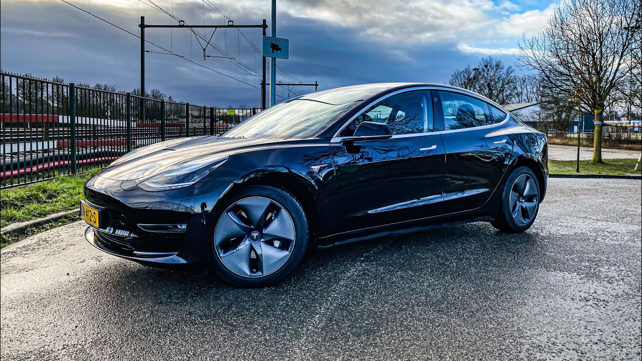 2019 Tesla Model 3 Long Range AWD (Overview) 4K - RB ...