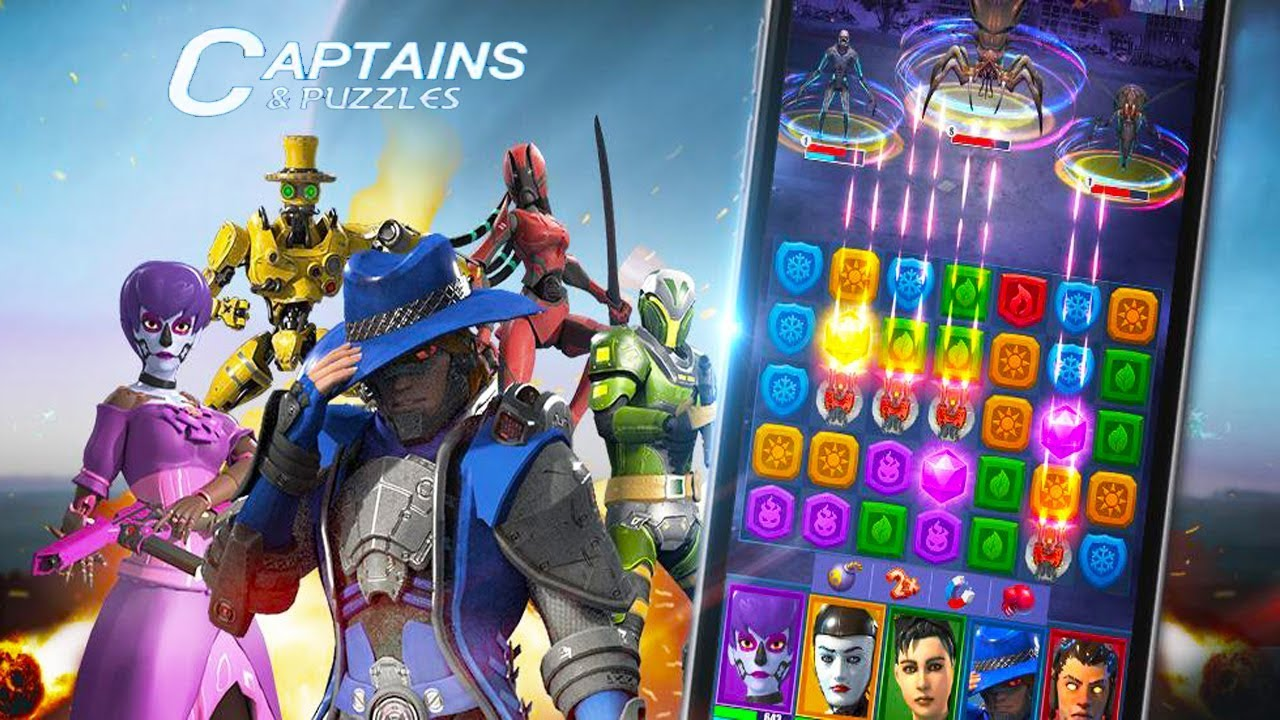 Captains & Puzzles mod apk download for pc, ios and android