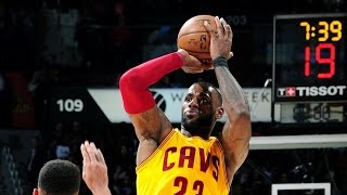 ALL 25 of Cavaliers NBA Regular Season Record for Made 3-Pointers | 03.03.17