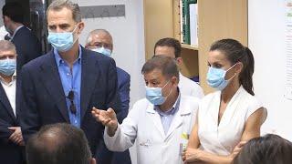 Reyes conocen avances en investigación biosanitaria en Murcia