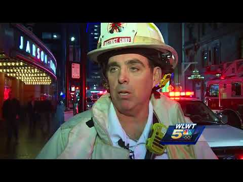 Restaurant inside downtown hotel catches fire
