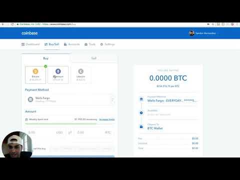 como comprar bitcoin en coinbase