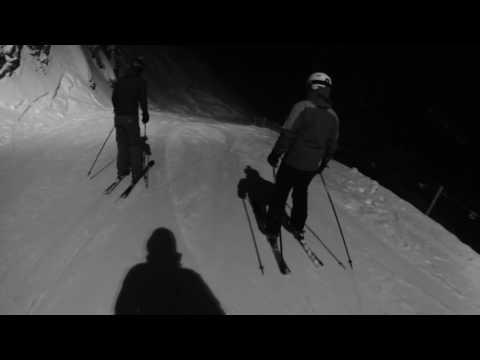 Corvatsch night ski - st moritz 2016