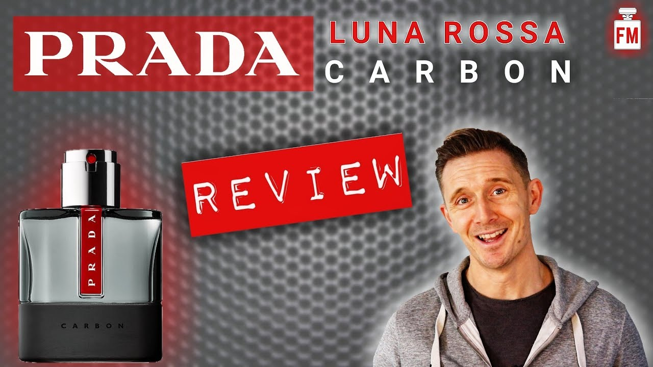 84d067fed PRADA LUNA ROSSA CARBON Fragrance/Perfume/Cologne Review - YouTube