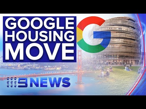 Lendlease And Google Sign $21bn Property Development Deal In Silicon Valley | Nine News Australia