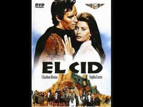Musique du film Le Cid par Miklos Rozsa.