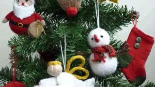 Free Patterns For Christmas Decorations  New