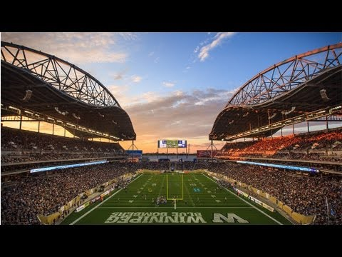Timelapse: Investors Group Field Home Opener
