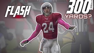 FLASH ABSOLUTELY GOES OFF!! Can He Get the Single Game Rushing Record?? Madden 16