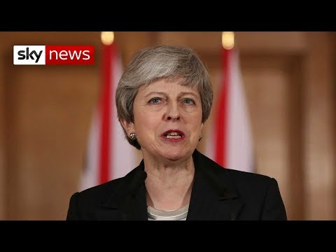 Theresa May calls for MPs to make Brexit decision
