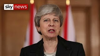 Breaking News: Theresa May calls for MPs to make Brexit decision