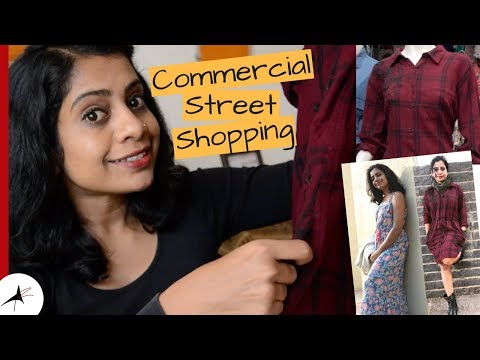 Commercial Street Bangalore Winter Shopping Haul | Shopping Tips | Arpitharai