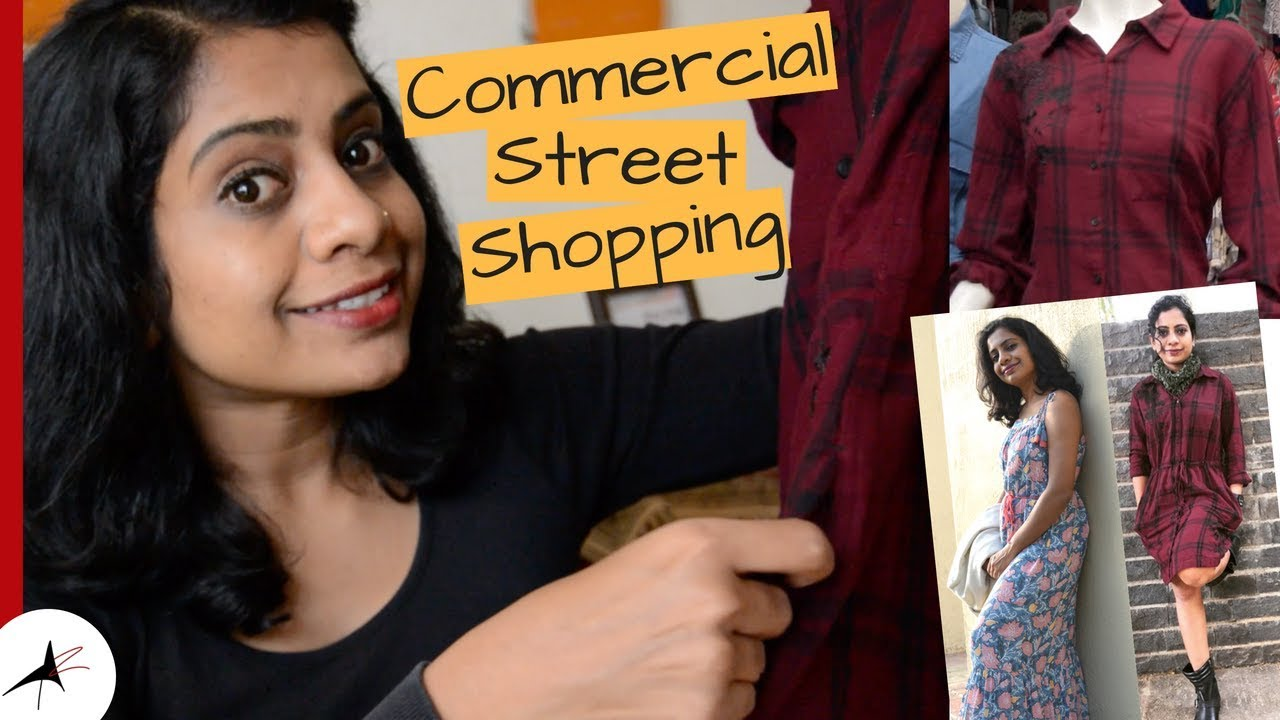 COMMERCIAL STREET SHOPPING HAUL | Winter Shopping In Bangalore