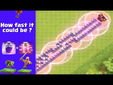Rage Spell + Haste Spell | DOES IT WORK ?| Clash Of Clans