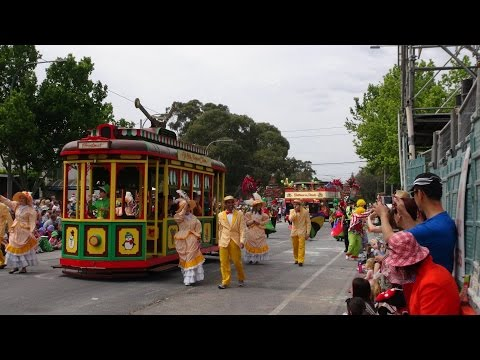 2014 Credit Union Christmas Pageant in Adelaide, South Australia