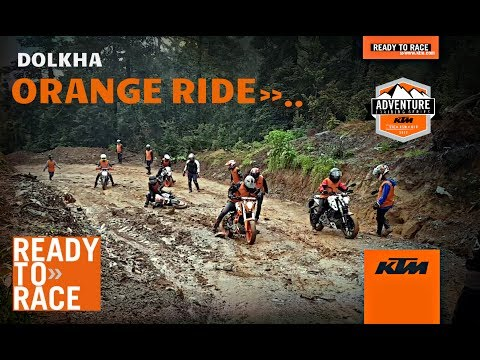ORANGE RIDE TO KURI DOLKHA WITH KTM RIDERS NEPAL