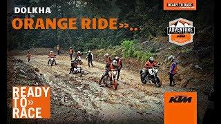 ORANGE RIDE TO KURI DOLKHA WITH KTM RIDERS NEPAL