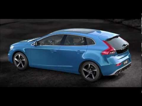 volvo v40 r design 360 my2013 youtube. Black Bedroom Furniture Sets. Home Design Ideas
