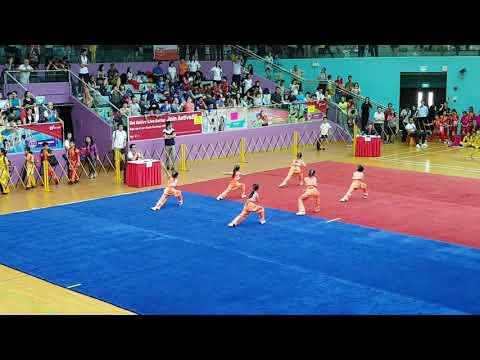 Primary School Wushu Championship 2018 - Junior Girls Team Quan (1st Place)