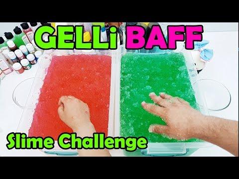 Gelli Baff ile Eğlenceli ve Komik Slime Challenge Oyunu