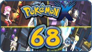Let's Play Pokémon X Part 68: Pokémon Liga! Top 4 Pachira, Thymelot, Dracena & Narcisse