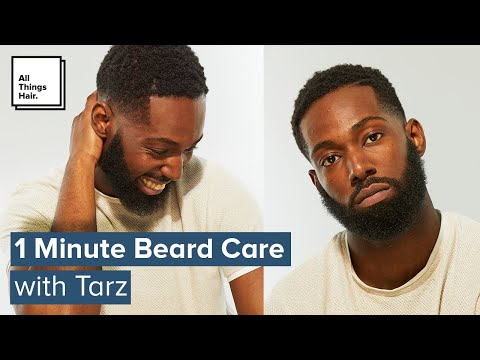 1 Minute Beard Care For Black Men | Bearded Beginners
