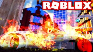 CRASHING MY NEW $10,000,000 SPORT CAR IN ROBLOX! (Roblox Vehicle Simulator)