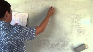 Алгебра 9 класс. 30 сентября. неполные квадратные неравенства