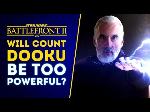 Will Count Dooku Be Too Powerful? Our Honest Concerns! - Star Wars Battlefront 2 thumbnail