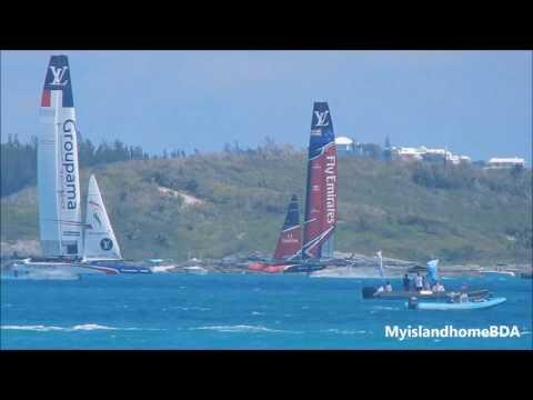 Emirates Team New Zealand vs Groupama Team France
