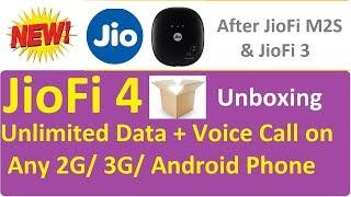 JioFi 4 Wifi 4G Router Price Hotspot Setup | Reviews | Unboxing | JioFi4 Wireless Speed