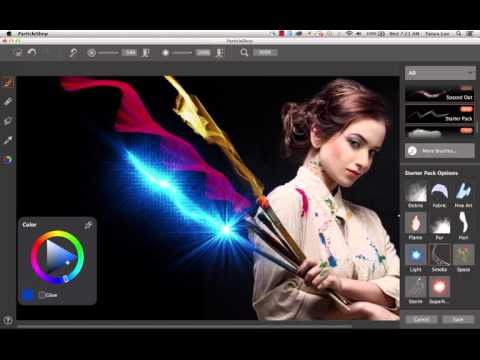 How to use the ParticleShop Plugin 1.1 User Interface