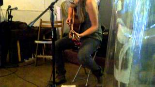 Jessica Benini, Live at BBAM! Gallery, Montreal, Acoustic West Coast Folk