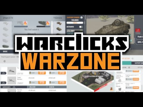 War Clicks Rework - New Warzone, PvP, Bosses, & More