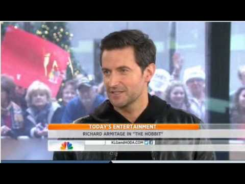 TODAY Kathie Lee And Hoda 'The Hobbit' Actor  Richard Armitage