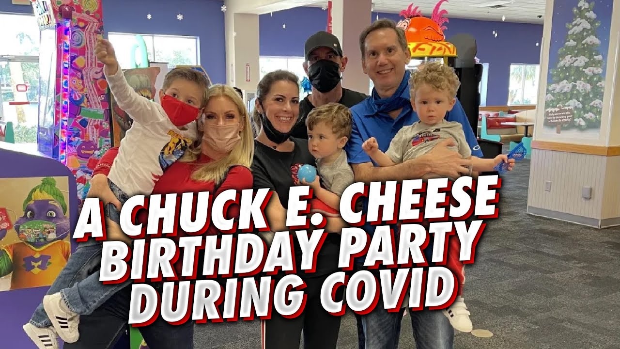 A Chuck E Cheese Birthday Party in the Time of Covid