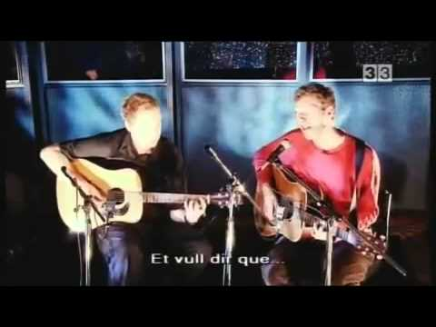 Coldplay - Shiver (Acoustic) 2000 Live