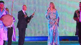 Гульнара Каримова  на фестивале Асрлар Садоси