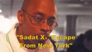 "Sadat X-""Escape From New York"" + Lyrics"