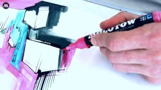 Molotow GRAFX aqua ink softliner